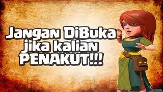 Keluar SETAN! di Game COC (JANGAN NONTON PAKAI HEADSET + MALAM HARI!!!) Bahaya!!!