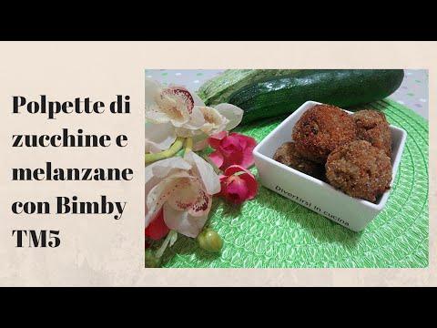 bimby: polpette di melanzane e zucchine.