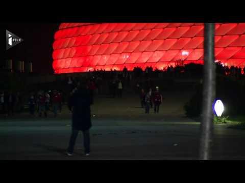 Dépités, les supporters du Bayern quittent le stade