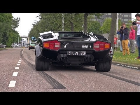 lamborghini countach 5000s exhaust sounds. Black Bedroom Furniture Sets. Home Design Ideas