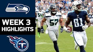 Seahawks vs. Titans | NFL Week 3 Game Highlights