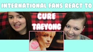 "International fans react to Taeyong's ""Cure"" MV! Check out the station video for yourself!"