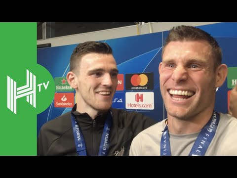 Andrew Robertson & James Milner: We did it for Jurgen Klopp!