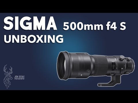 SIGMA 500mm F4 UNBOXING