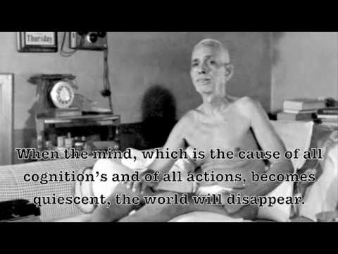 Ramana Maharshi: Images and Quotes from the Master
