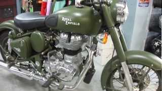 8. 2011 ROYAL ENFIELD BULLET C5 CLASSIC
