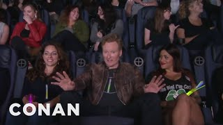 "Video Conan Crashes A ""Magic Mike XXL"" Girls' Night Out  - CONAN on TBS MP3, 3GP, MP4, WEBM, AVI, FLV Juli 2019"
