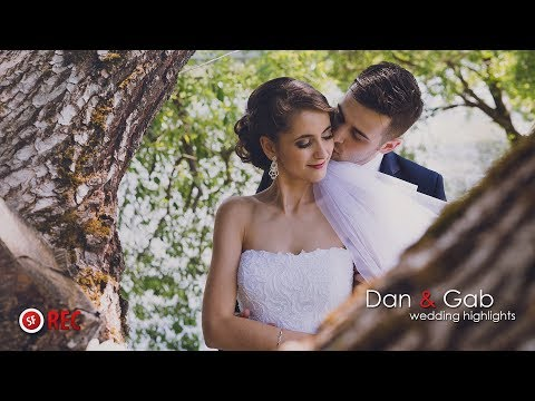 Dan & Gab - Wedding highlights