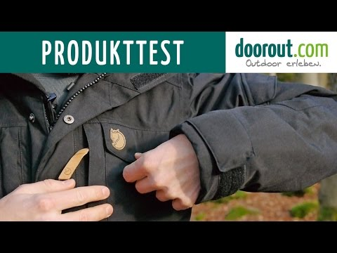 Produkttest Fjällräven Yupik Parka - Hydratic Winterjacke Test