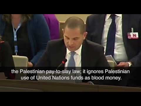Micah Avni: 'What if I were to pay $3M to have your father shot in the head?' 3/19/18, UN, Geneva