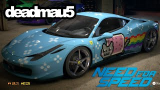 "Need for Speed deadmau5' ""Purrari"" wrap editor Timelapse"