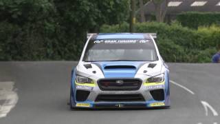 Some raw footage of Mark Higgins driving the Subaru WRX STI TT Attack car during his record breaking lap of the Isle of Man TT circuit. His record is now ...