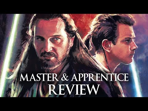 The New Qui-gon And Obi-wan Book Before The Phantom Menace - Star Wars: Master & Apprentice Review