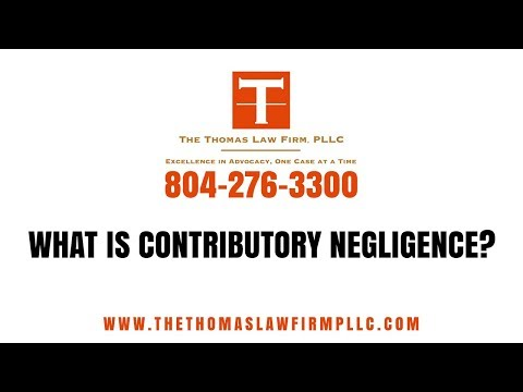 What is Contributory Negligence?