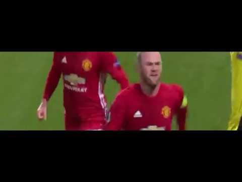 Wayne Rooney goal vs Feyenoord 2/11/2016