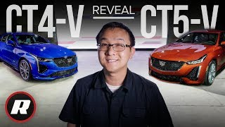 First Look: 2020 Cadillac CT5-V and CT4-V sedans are mean, high-performance machines by Roadshow