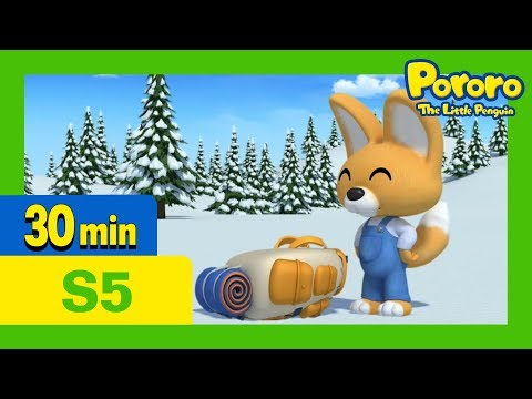 Pororo English Episodes l Eddy's All-purpose Backpack l S5 EP10 l Learn Good Habits for Kids
