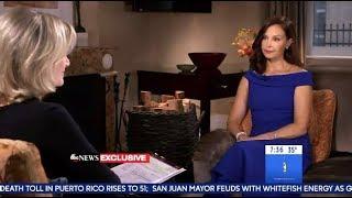 Ashley Judd  - Shares Her Harvey Weinstein Story (GMA)