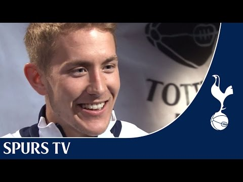 Exclusive Interview - EXCLUSIVE! Interview with Tottenham Hotspur's Lewis Holtby including training footage.