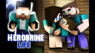 Video Monster School : Herobrine's Life (Sad but very touching story) - Best Minecraft Animation MP3, 3GP, MP4, WEBM, AVI, FLV Desember 2018