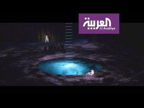 العرب اليوم - مسرح يتحول لبركة بثوانٍ في دبي