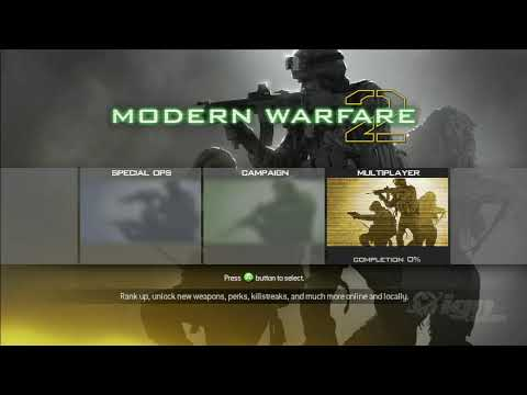 Call of Duty: Modern Warfare 2 геймплей