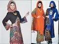 gaun pesta muslim (gaun muslimah) - YouTube