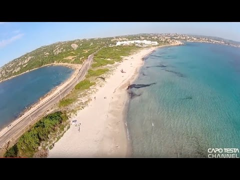 CAPO TESTA vista dal cielo - seen from the sky HD