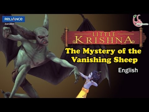 Little Krishna English - Episode 11 The Mystery Of The Vanishing Sheep