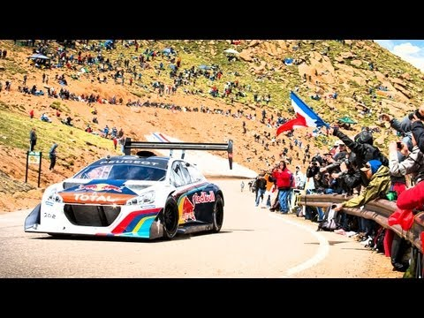 run - For more Pikes Peak coverage visit: http://win.gs/1exDN2F Watch Rhys Millen's Full Run: http://youtu.be/rnTkneFqHy8 After months of anticipation, Sébastien L...