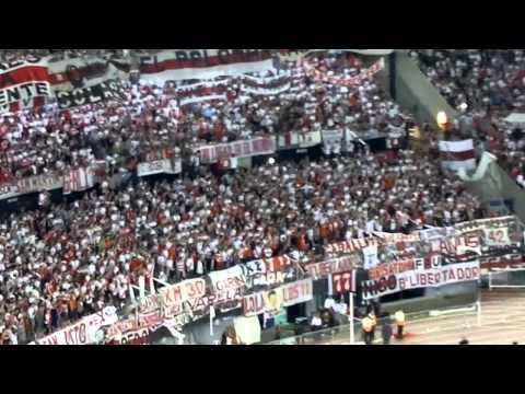 Video - ESTA NOCHE TENEMOS QUE GANAR + FIESTA - River Plate vs Atlético Nacional - Copa Sudamericana 2014 - Los Borrachos del Tablón - River Plate - Argentina