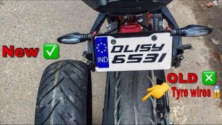 GETTING Fat Tyre For My KTM RC390 || Techno Khan