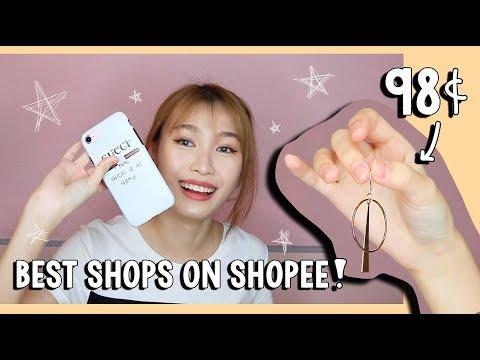 BEST SHOPS ON SHOPEE!!!! + HAUL