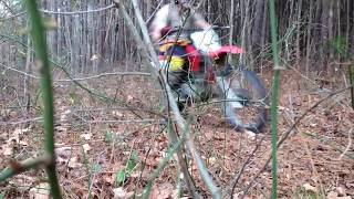 1. Putting my 2004 Honda crf100 to the test