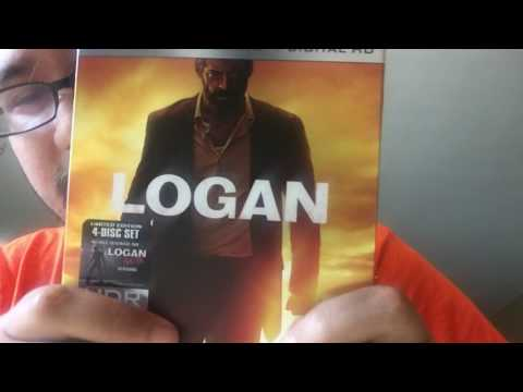 Logan 4K Ultra HD Blu-Ray Unboxing