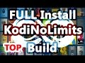 Install Kodi No Limits Build on Kodi 17 Krypton + LiveTV + XXX + UK Turk