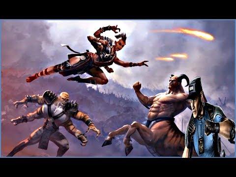 Mortal Kombat 11 Aftermath Cameos, Stryker,Motaro, Kintaro,Kung Jin