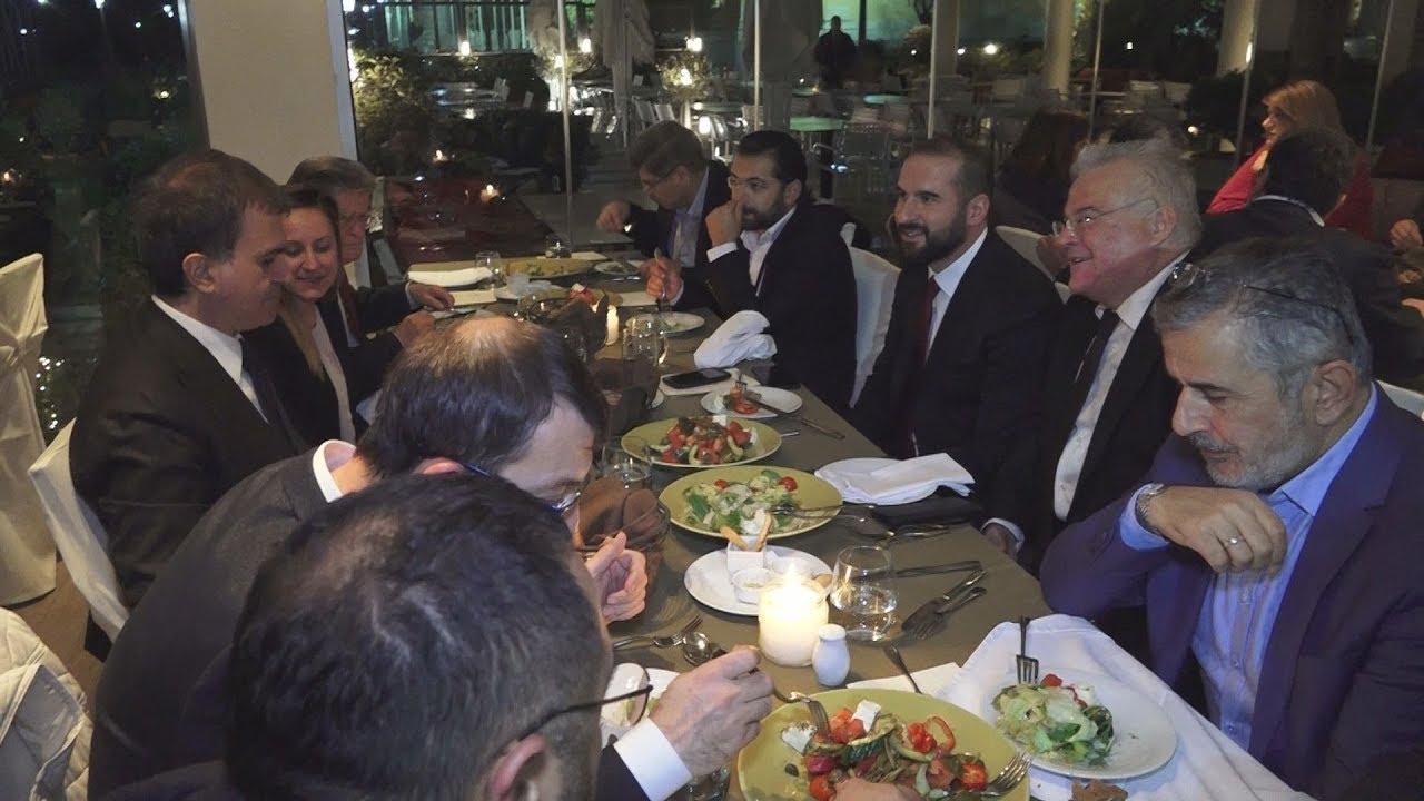 Οι σχέσεις Ελλάδας -Τουρκίας και η επίδραση της δημοσιογραφίας, στο δείπνο ΑΠΕ/ΜΠΕ και Αναντολού