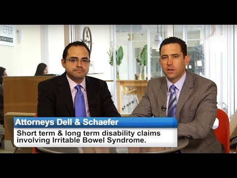 disability - Disability attorneys Gregory Dell and Cesar Gavidia discuss Irritable Bowel Syndrome and short and long term disability claims involving this condition. One ...