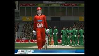 Shane Warne Great Spell Of Bowling In EA Cricket 07 Patched 2013 By A2 Studios Blogger