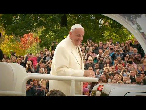 Πάπας: Μήνυμα αγάπης από τη Λιθουανία