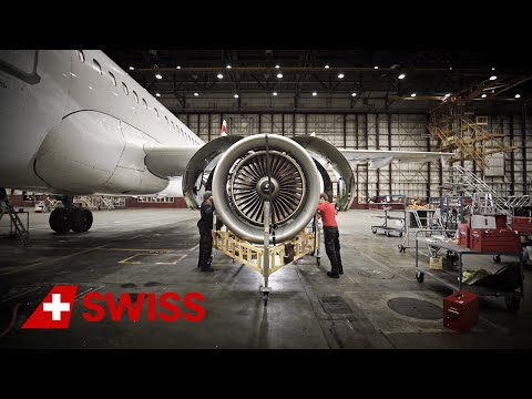 SWISS Technical Division – aircraft engines