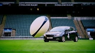 Car Rugby at Twickenham (First Half)   Top Gear   Series 19   BBC