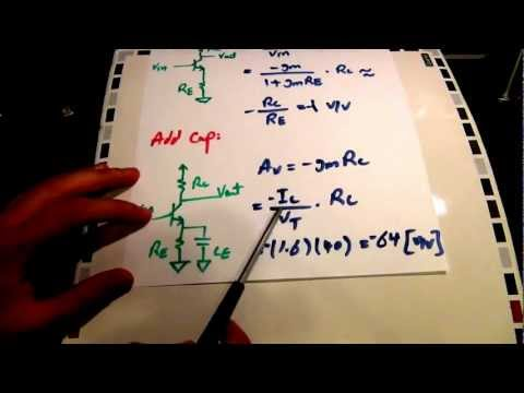 Tutorial on the Theory, Design and Characterization of a Single Transistor Bipolar Amplifier