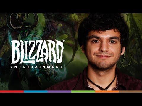 Chris Darin from Blizzard