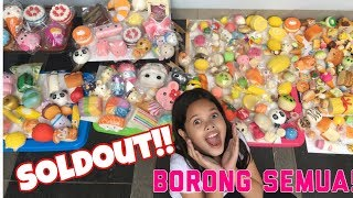 Video BORONG SQUISHY SAMPE SOLDOUT! 😱😱 | HOMESALE SQUISHY #4 MP3, 3GP, MP4, WEBM, AVI, FLV Desember 2017
