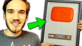 RUBY PLAY BUTTON! / 5 YouTube Play Buttons YOU WONT BELIEVE EXIST (PewDiePie, Part 2)