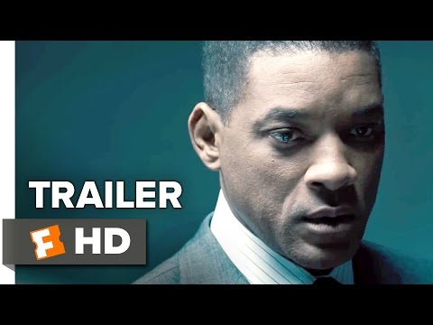 Concussion Official Trailer #2 (2015) - Will Smith, Adewale Akinnuoye-Agbaje Drama HD