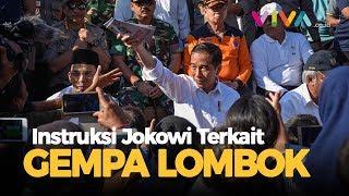 Video Instruksi Jokowi Usai Temui Korban Gempa Lombok MP3, 3GP, MP4, WEBM, AVI, FLV Agustus 2018