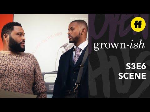 grown-ish Season 3, Episode 6 | Aaron's Interview Fail With Dre Johnson | Freeform